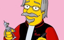 Matt Groening e Netflix enfim se conheceram. Shippando desde já.